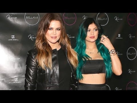 Kylie Jenner's Friends And Family Support Her Hair Extension Line [2014]