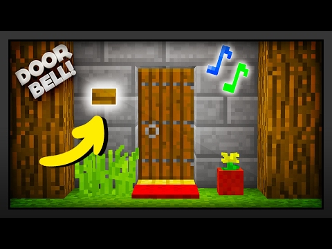 Minecraft - How To Make A Doorbell