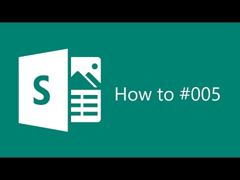 Sway How To #005 Create a Sway from a topic