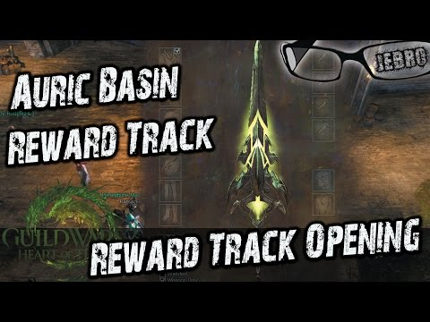 Auric Basin Reward Track Opening - Gw2 PvP Rewards