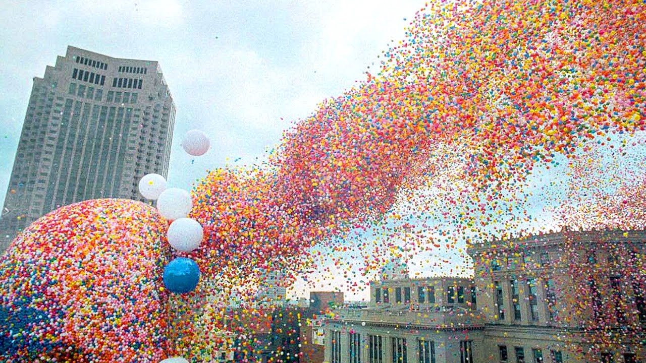 This is Why You Should Never Release 1.5 Million Balloons At Once...