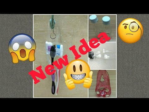 Homemade 4 DIY Creative Ways to Reuse / Recycle Plastic Bottles, New idea for Plastic bottle Reuse
