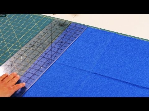 How to Use Rotary Ruler & Cutting Mat | Quilting