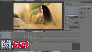 "CGI 3D Making of: ""Tribute to Hayao Miyazaki""  - by DONO"