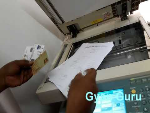how to copy at  front page both side of copier machine ir 2230 canon