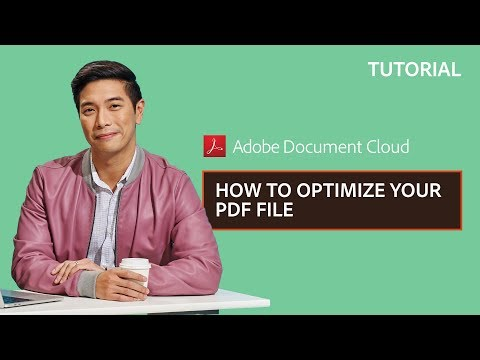 How to Optimize your PDF File