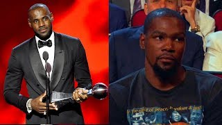 LeBron James Wins Best NBA Player at 2017 ESPYS Over Kevin Durant and Russell Westbrook