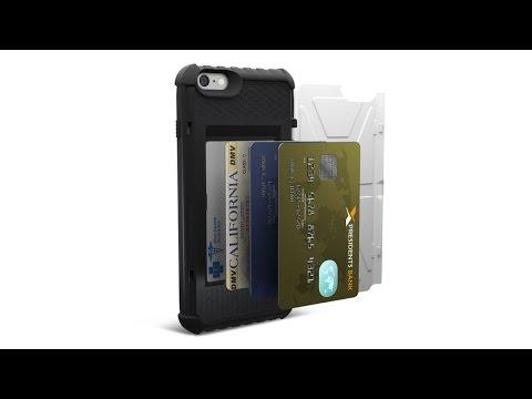 Urban Armor Gear Card Case for iPhone 6s Plus