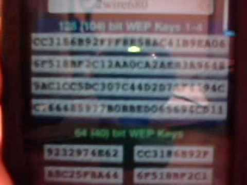 wifi passwords on ipod touch