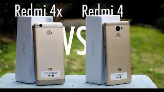 Xiaomi Redmi 4x vs. Redmi 4 - Close look & AnTuTu comparison
