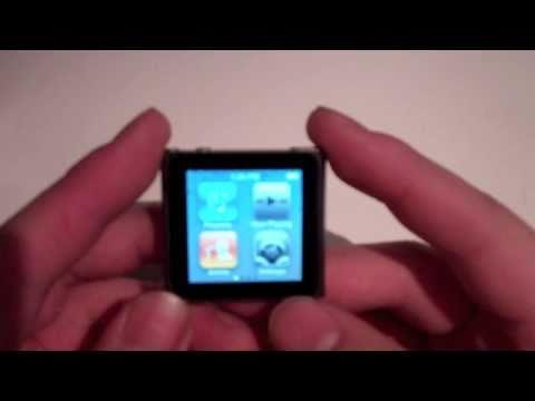 iPod Nano 6th Generation (8GB - 16GB Graphite) Review