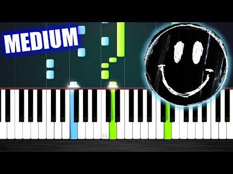Ed Sheeran - Happier - Piano Tutorial (MEDIUM) by PlutaX