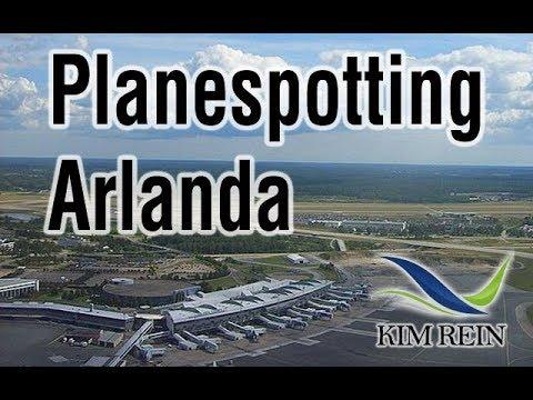 Planespotting Arlanda Airport (ARN)