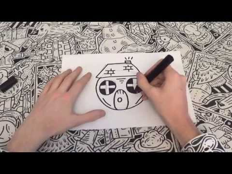 How To Doodle A House