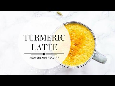 Turmeric Latte (Golden Milk) | Heavenlynn Healthy