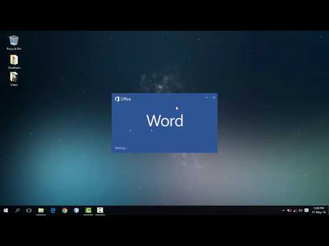 How To Get Microsoft Office 2018 for Free on Mac and Windows Tutorial - Word Download