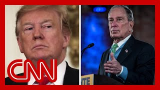 Trump and Bloomberg used to be friends. Now they are waging political war