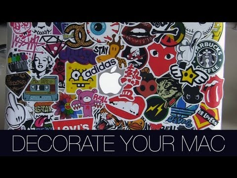 How To: Decorate Your MacBook