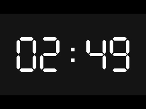 how to make a countdown timer using notepad