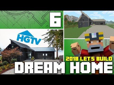 Minecraft Xbox One: Let's Build The HGTV Dream Home 2018! (Part 6)