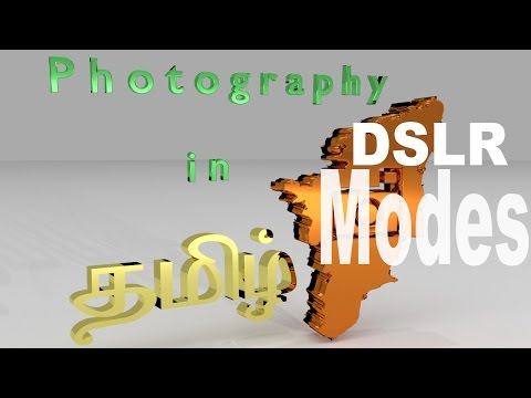 DSLR Modes - Learn how to use them