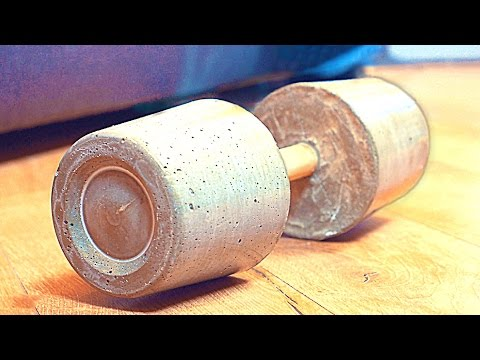 HOW TO MAKE A DUMBBELL