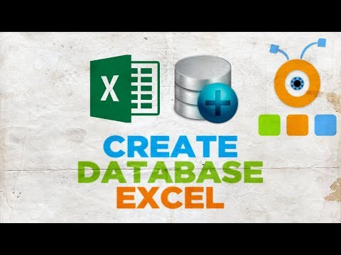 How to Create a Database in Excel
