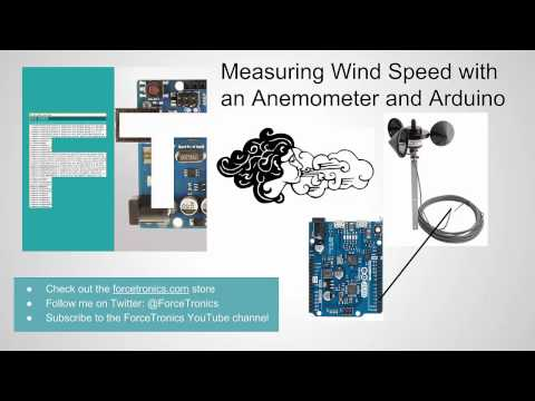 Measuring Wind Speed with an Anemometer and Arduino