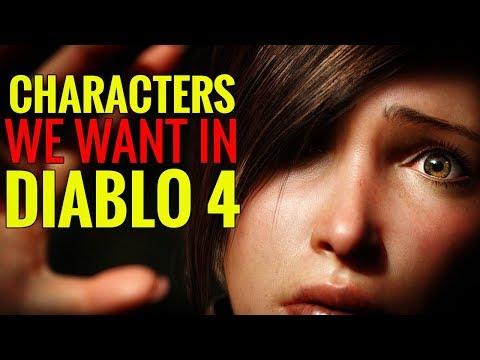 Characters We Want in Diablo 4
