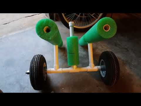 DIY Kayak Cart for Pelican Catch 120NXT