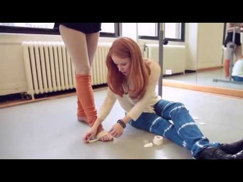 Episode 2: Pointe Shoes and Cushions - toe pads and extra padding