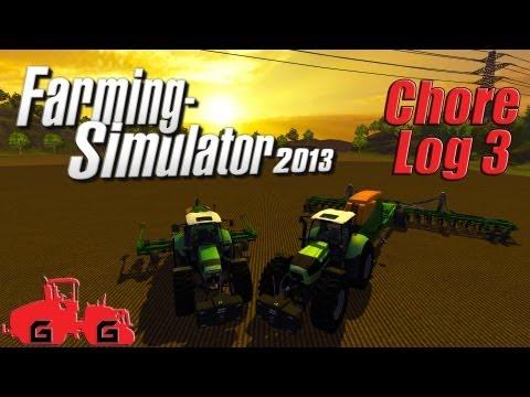 Farming Simulator 2013: Chore Log 3 - Planting and Spraying