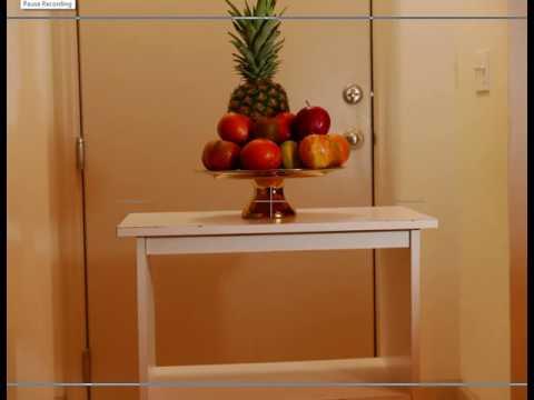 fruit bowl 3D effect