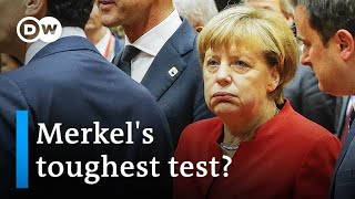 Can German Chancellor Angela Merkel save the EU?   DW News