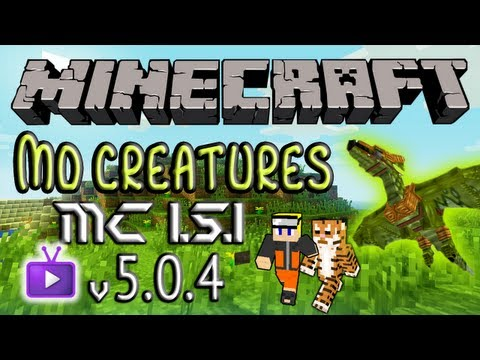 NEW Mo' Creatures 1.5.1 (v5.0.4) Official Update - Wyverns & Dragons!!! Taming and NEW BIOME!!!