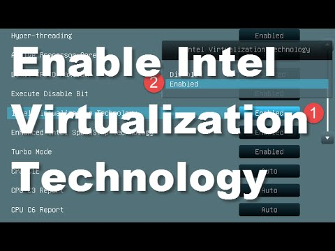 Asus Motherboard: How to Turn On Intel Virtualization Technology