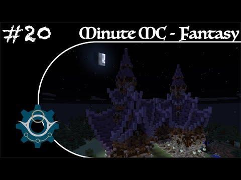 Minute Minecraft - Time Lapse - Fantasy Village - Ep.20
