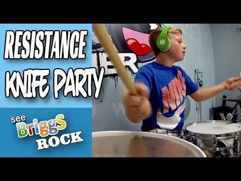 Knife Party Begin Again Drum Cover Briggs