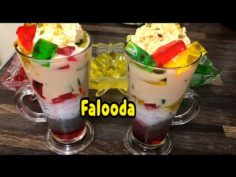 Instant Falooda With Homemade Rubry By Yasmin's Cooking (Summer Special)