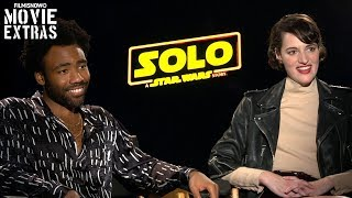 SOLO: A STAR WARS STORY | Donald Glover & Phoebe Waller-Bridge talk about the movie
