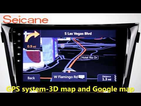 10.2 inch 2013 2014 2015 Nissan Qashqai radio dvd gps Sat Nav stereo with 3G WIFI USB