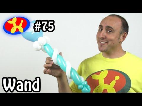Character Wand - Balloon Animal Lessons #75