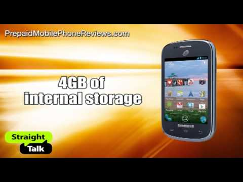Straight Talk Samsung Galaxy Centura available for $99.99