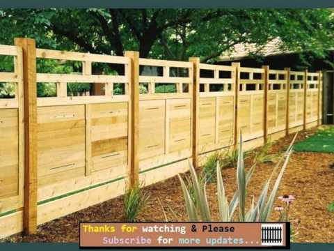 Fence Collection - Wood Fence Designs For Horses