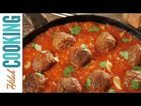 Homemade Meatball Recipe - How To Make Meatballs | Hilah Cooking Ep 9
