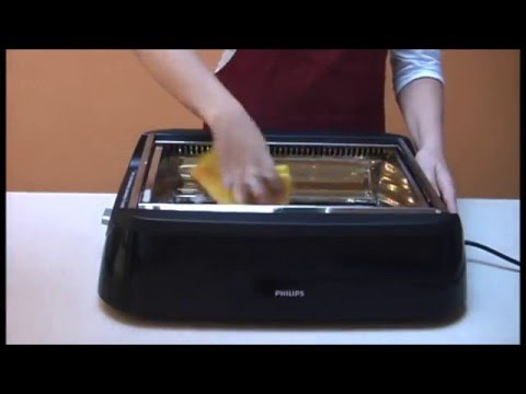 How to thoroughly clean the Philips Smoke-less Indoor Grill HD637x