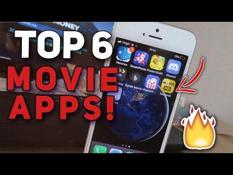 TOP 6 BEST MOVIE APPS! ( No Jailbreak / No Computer ) iOS 9/10/11 iPhone, iPod, iPad