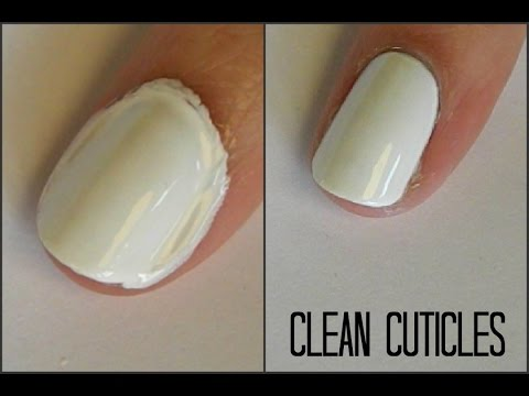 HOW TO CLEAN UP MESSY NAIL POLISH - TUTORIAL | NAILSBYSOFIE