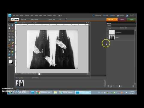 Making a .gif in Photoshop Elements 8 - Part 1