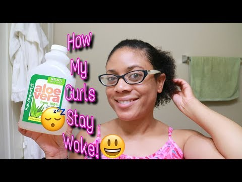 💕😍ULTIMATE DIY Moisturizing Curly Hair Refresher | My Curly Hair Routine